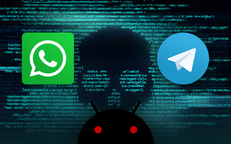 Android Spyware Posing As Threema and Telegram Apps